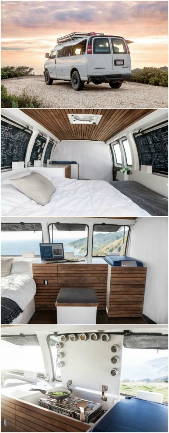 Young Filmmaker Converts Cargo Van into Tiny House and Tells the World All About It