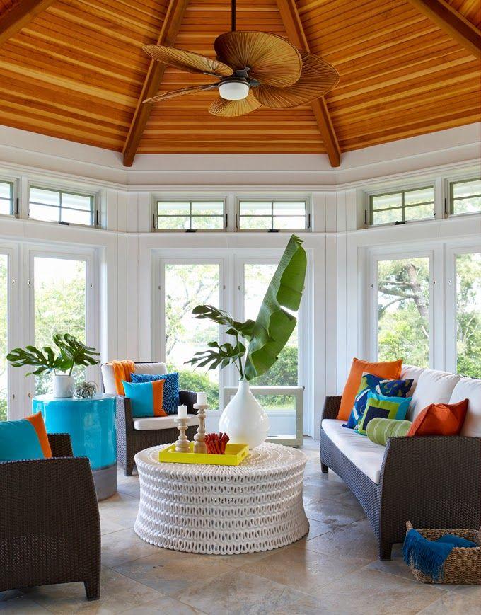Rachel Reider Interiors | Sunroom, Interiors and House