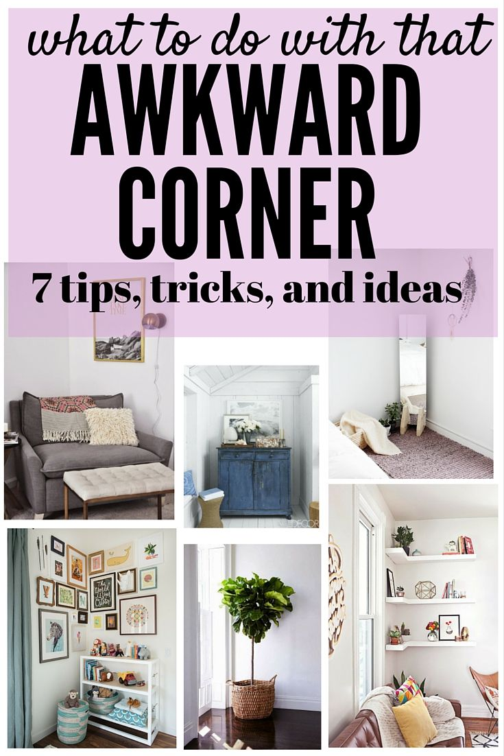 Corner Showcase Designs For Living Room: We All Have That One Really Awkward Corner In Our House