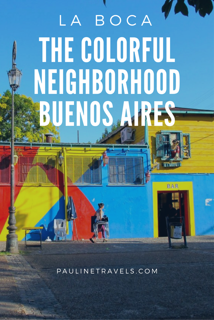 La Boca The Colorful Neighborhood Of Buenos Aires Argentina