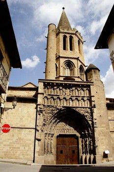 Romanesque Church Of Santa Maria La Real Sanguesa Navarra Spain Mike S 29th Great Grandfather Sancho Garces 1038 Spain Travel Romanesque Asturias Spain