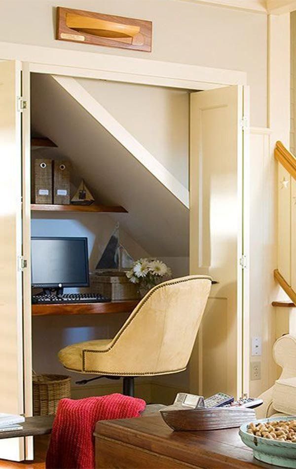 Best Creative Decorating Ideas For Under The Stairs Home 400 x 300