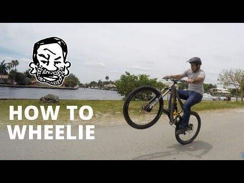 Watch How To Wheelie A Mountain Bike Freeride Mountain Bike