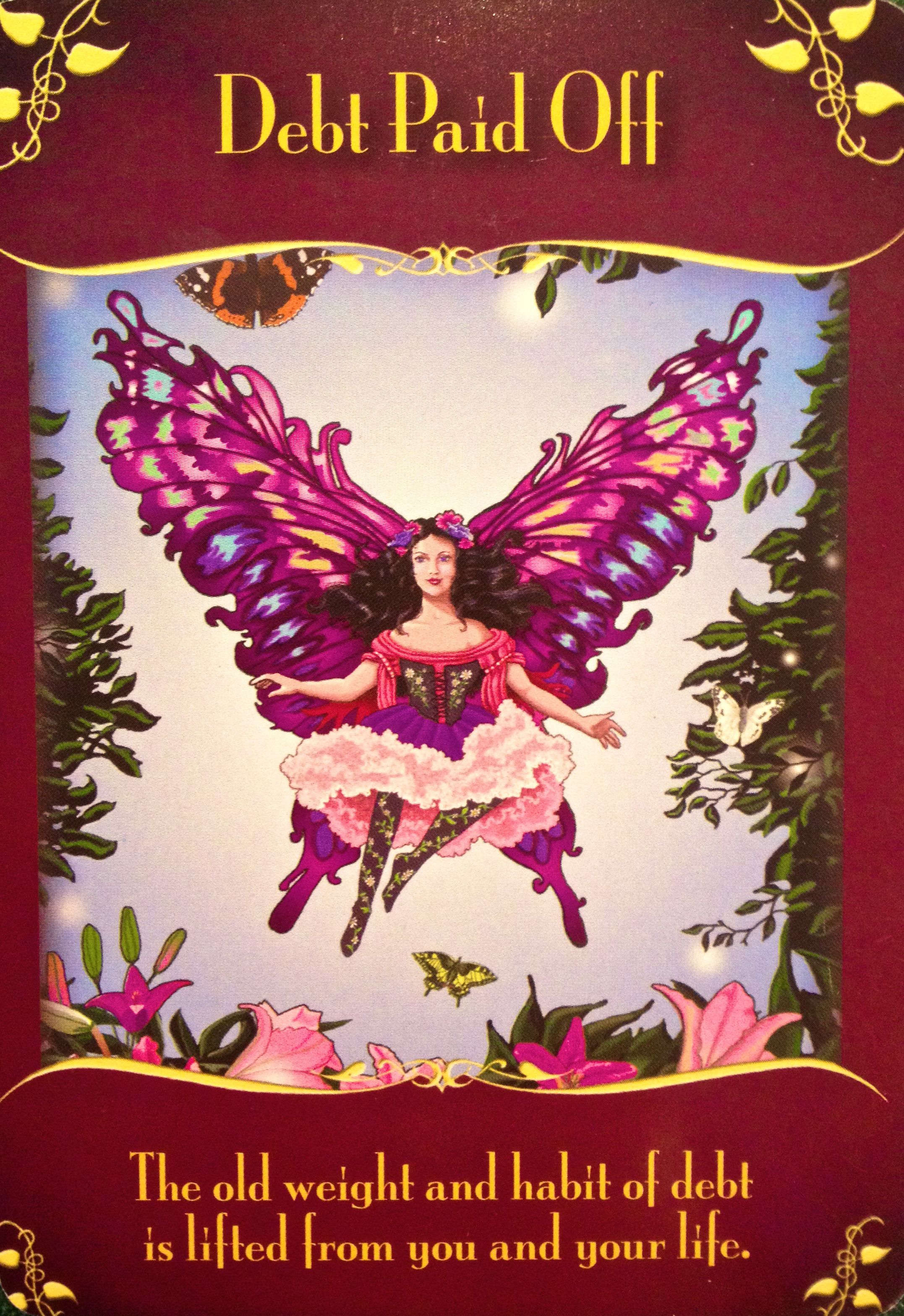 Magical messages from the fairies archangel oracle