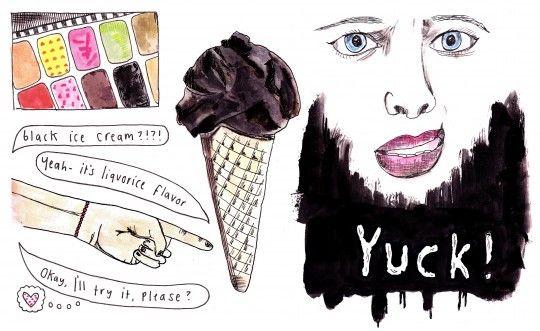 Ice Cream isn't always perfect...