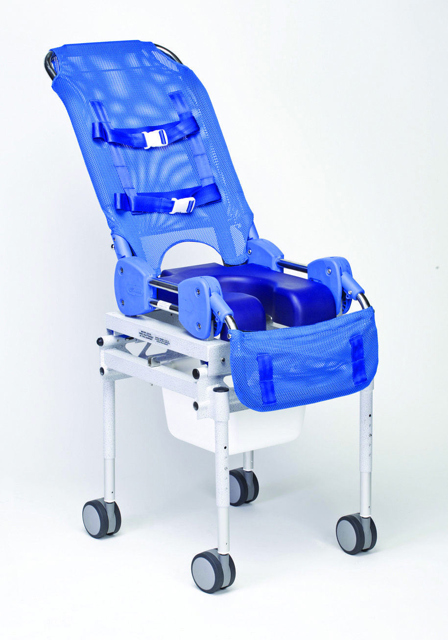 Columbia Medial Omni Reclining Shower Commode Chair Small With