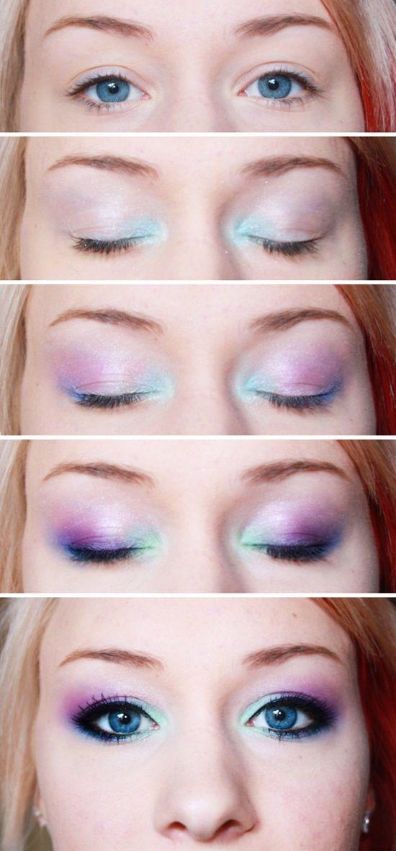 14 Easy Eyeshadow Tutorials For Perfect Eyes Postris Mermaid