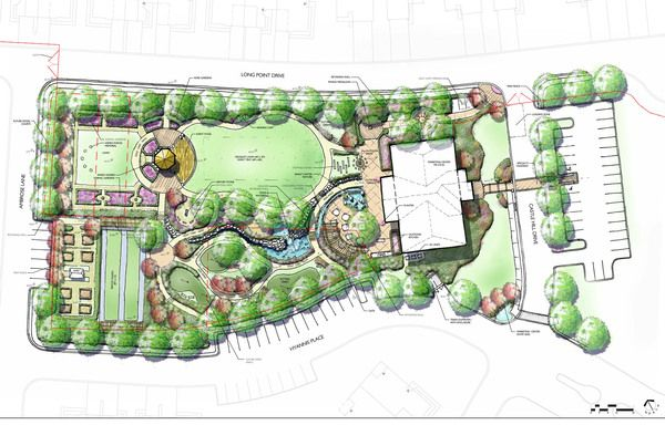 Hand Rendered Site Plans – Rendered Site Plan