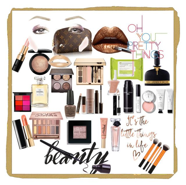 """""""ah beauty !"""" by scarlet87 ❤ liked on Polyvore featuring beauty, Laura Mercier, Lancôme, Urban Decay, Bobbi Brown Cosmetics, Chanel, Christian Dior, MAC Cosmetics, Neutrogena and Tom Ford"""
