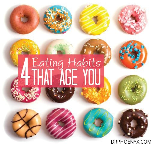 4 Bad Food Habits That Make You Age Faster | Dr. Phoenyx