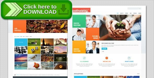 Free nulled pathaway modern business html template download wajeb Image collections