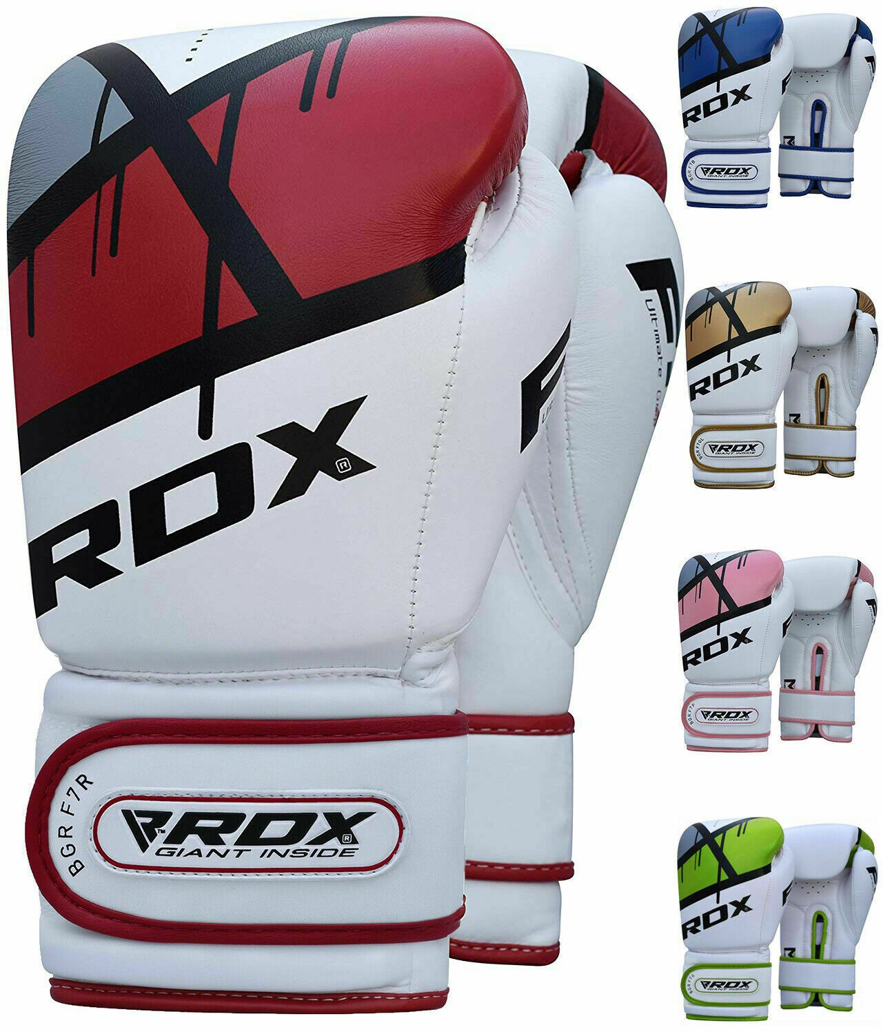 RDX MMA Gloves Sparring Training Fighting Punching Bag Mitts Boxing Wraps US