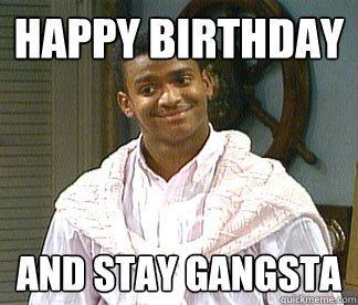 happy meme carlton birthday Funny