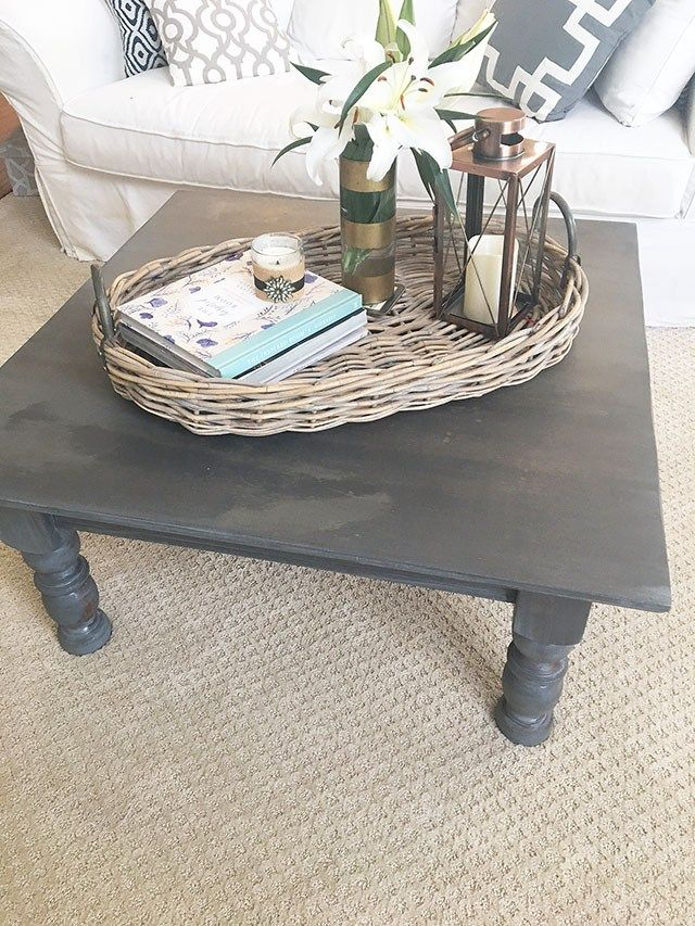 How to get the weathered gray, Restoration Hardware Gray look when staining furniture | 11 Magnolia Lane #restorationhardware