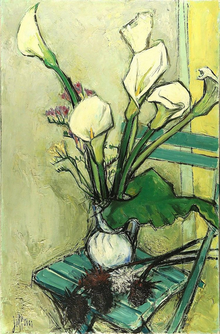GUILY JOFFRIN FRENCH 19092007 Flower painting, Art