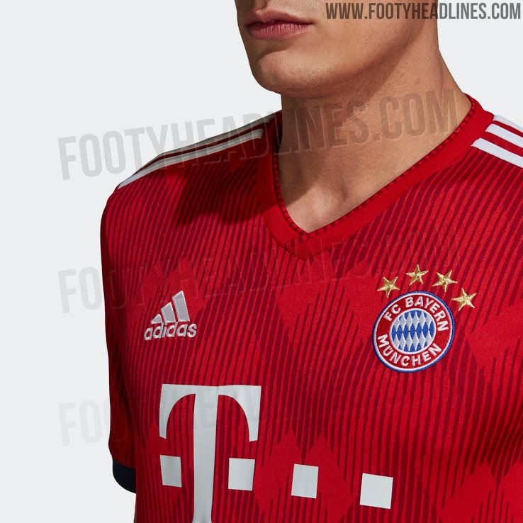 c233e059056 Bayern München 18-19 Home Kit Released - Footy Headlines