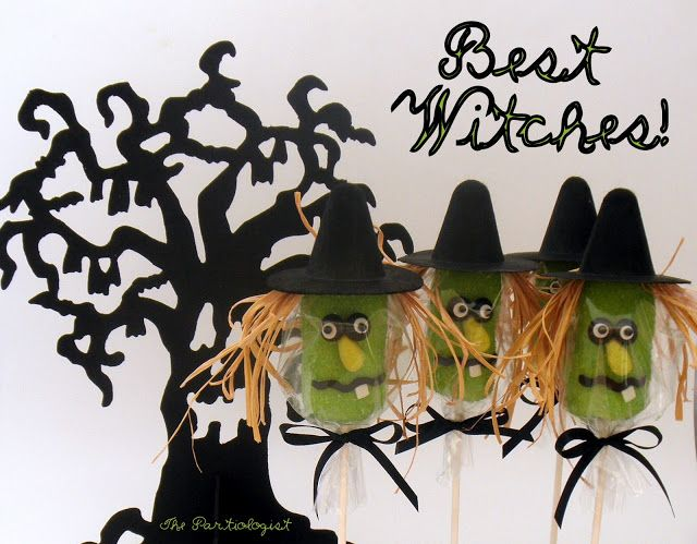 The Witch Is In! Witches and Halloween parties