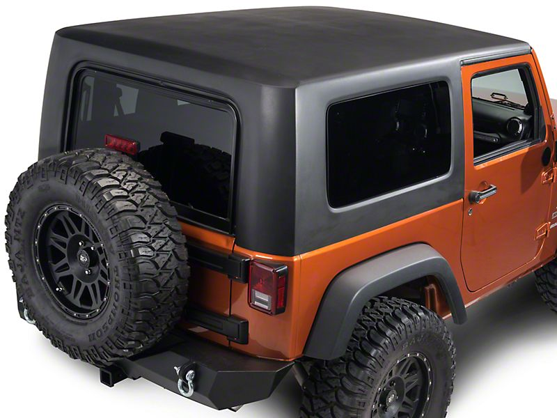 Jeep Wrangler Two Piece Hard Top For Full Doors 04 06 Jeep Wrangler Tj Unlimited Jeep Wrangler Jeep Wrangler Tj