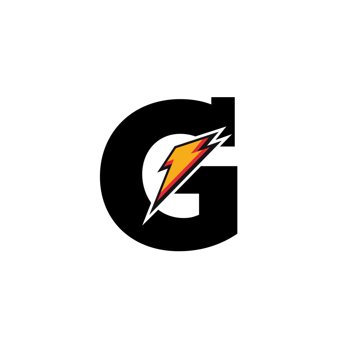 Gatorade Svg Logo In 2021 Letter G Lettering Lightning Logo