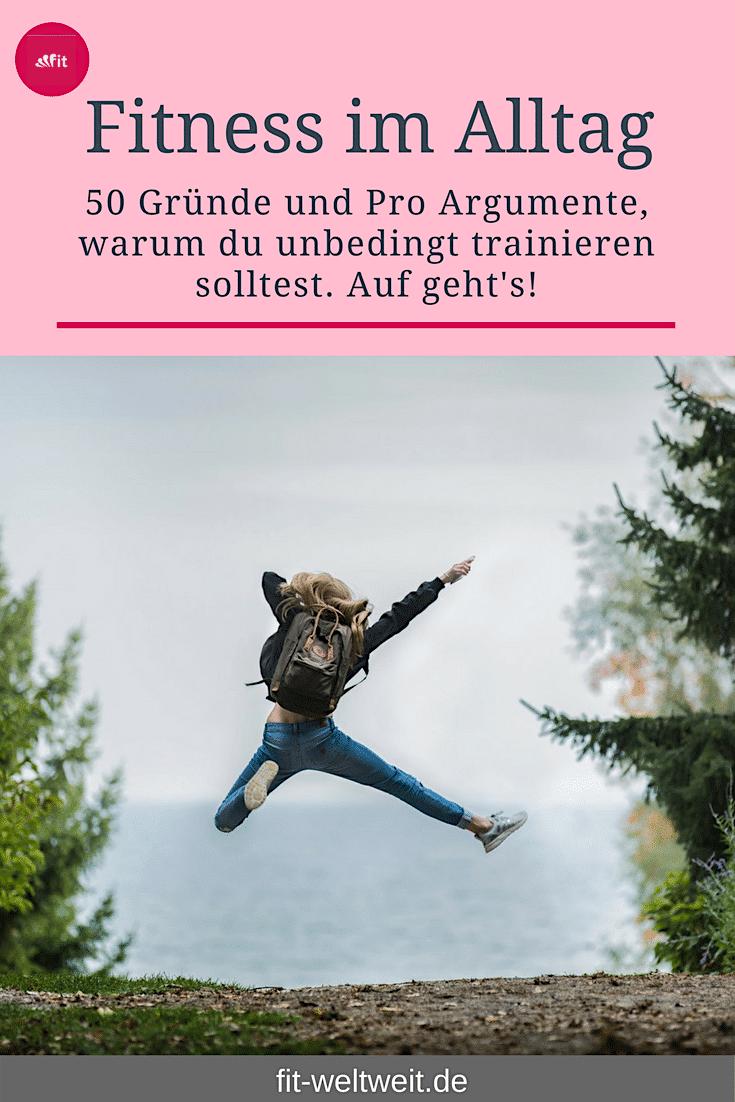 FITNESS VORTEILE ! 50 Sport Pro Argumente, die dich zum Fitness Training motivieren werden. Warum Sp...