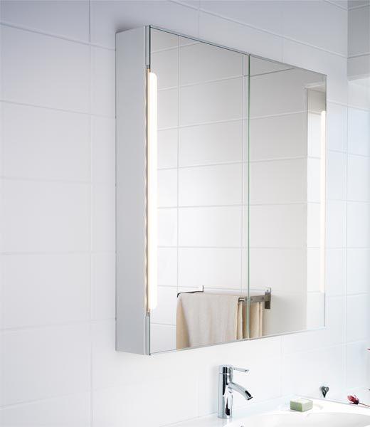 Storjorm spiegelkast voor boven je wastafel badkamer for Spiegelkast voor badkamer