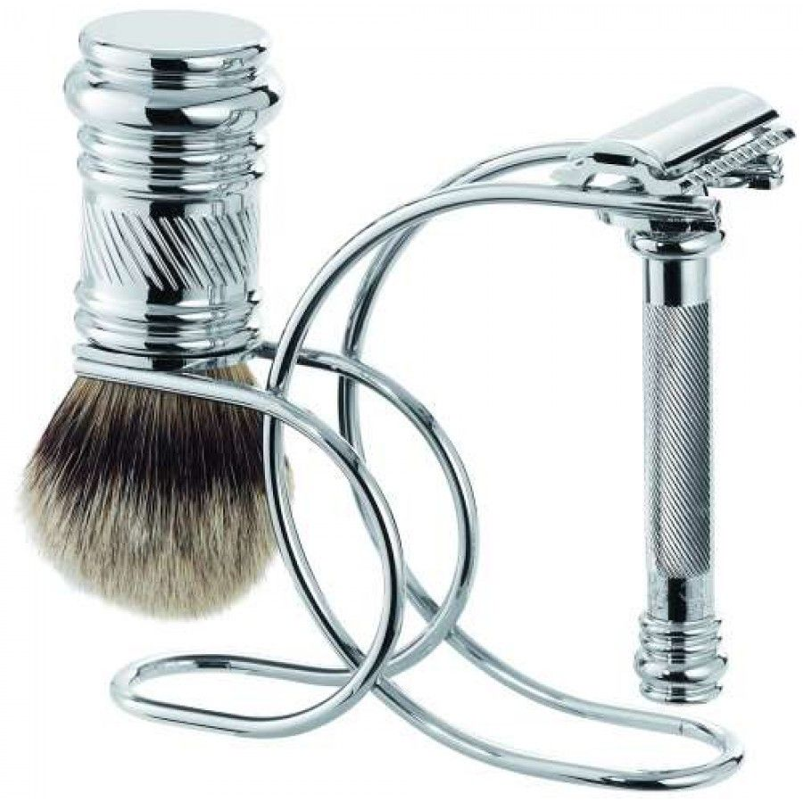 Merkur 38C Safety Razor Shaving Set 3pc/Chrome (90 388