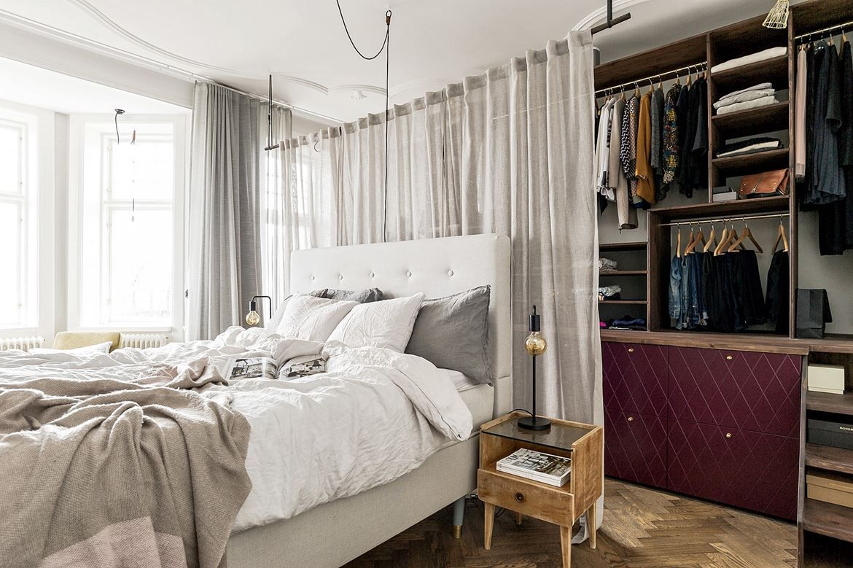 Un Appartement Hors Des Codes En Suede Schlafzimmer Inspiration