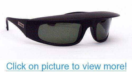 cf72e3876277 Solergy Polarized Visor Glare Blocking Sunglasses for men and women. 100%  UVA UVB protection for sports and every day use. cushioned case