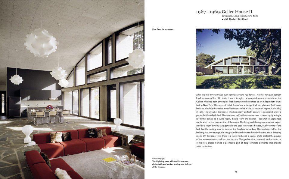 Breuer, Geller House II, 1959-69