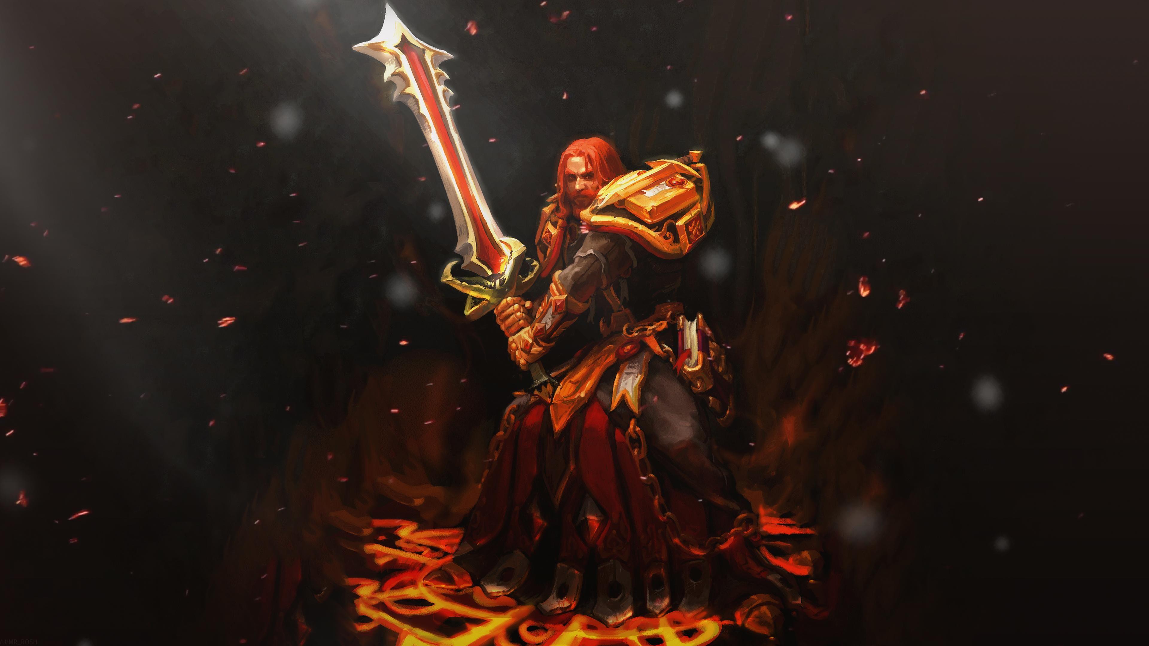 Retribution Paladin 4k Wallpaper Collection Album On Imgur Paladin Wallpaper World Of Warcraft