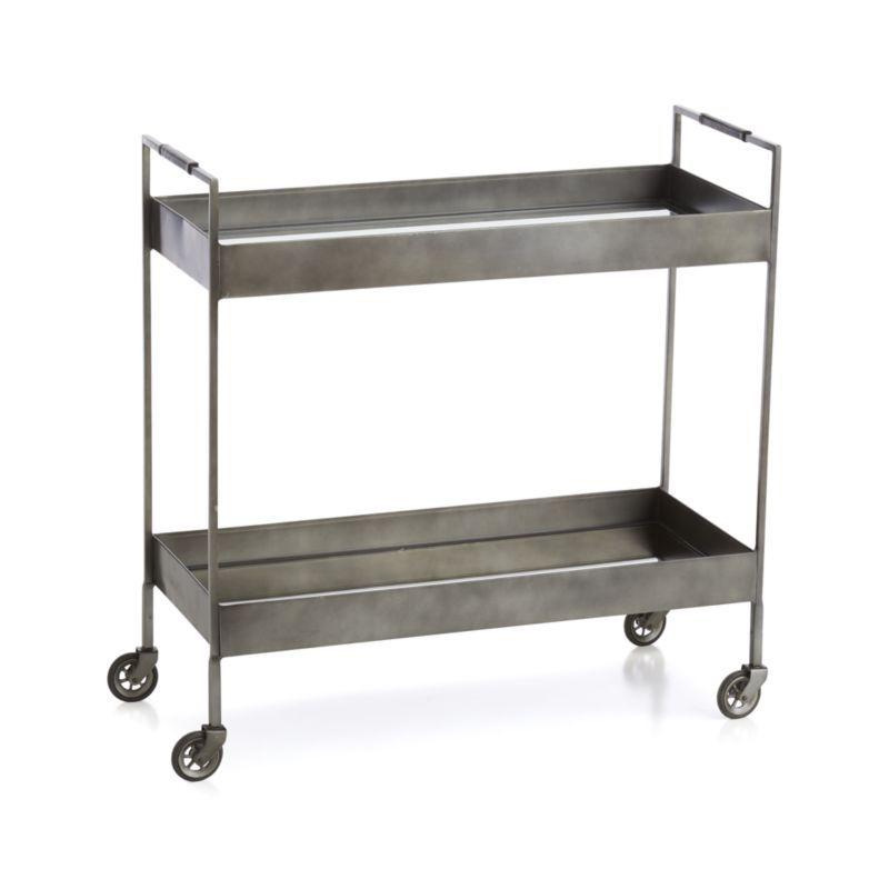 Libations Carbon Bar Cart | Vintage bar carts, Bar cart ...