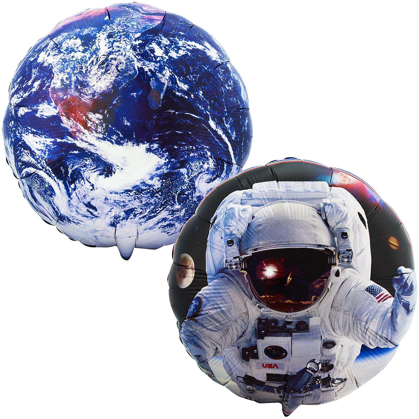 Space Mission Foil Balloon 46595 Astronaut kids