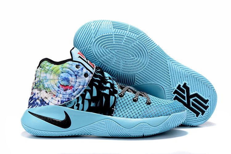 NIKE Kyrie Irving 2 Effect Tie Dye Basketball Shoes AAAA-046