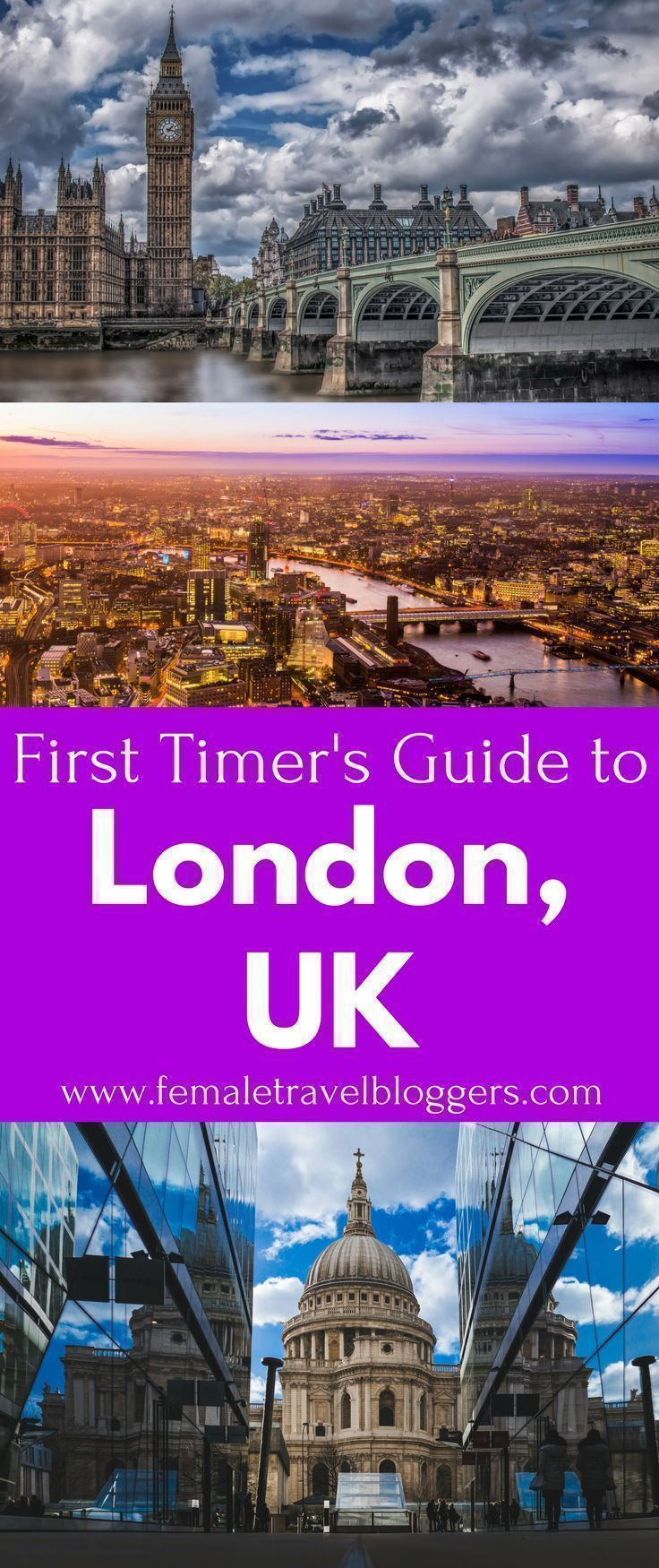 Are you planning a trip to London soon? If so, make sure you check out this first timer's guide to London, UK so you know what to expect. We will share what to eat in London, where to stay in London, things to do in London, what you have to see in London, and much more. Come check out this epic London guide and make sure you save it to your travel board so you can find it later. #london #londonuk #londontravel #londonguide