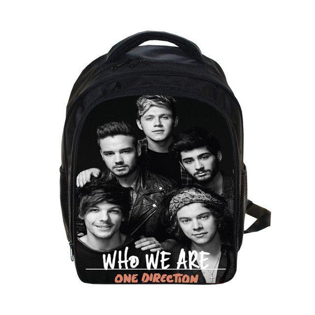 One Direction School Bag backpack Children