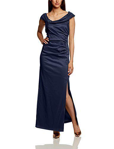 Vera Mont Damen Cocktail Kleid 0064/4826, Midi, Einfarbig ...