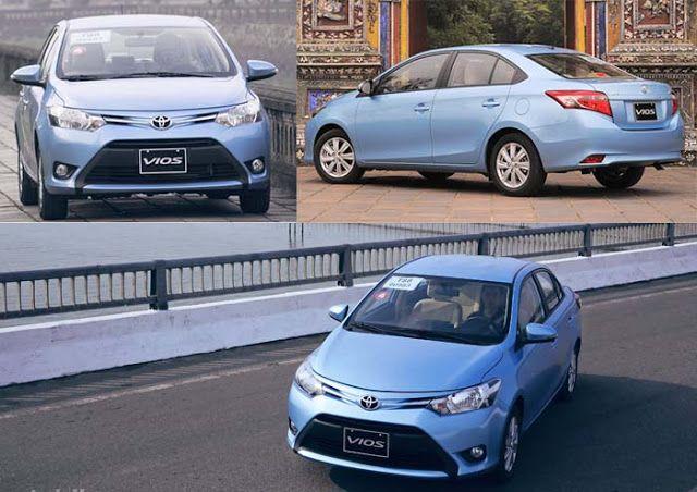 Ngoại thất xe Toyota Vios 2017