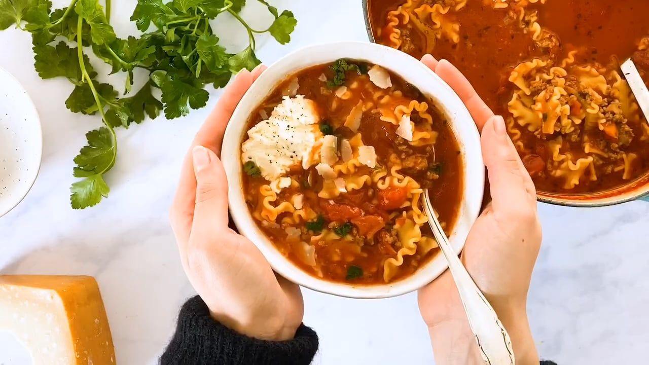 Lasagne Suppe: So Geht's!