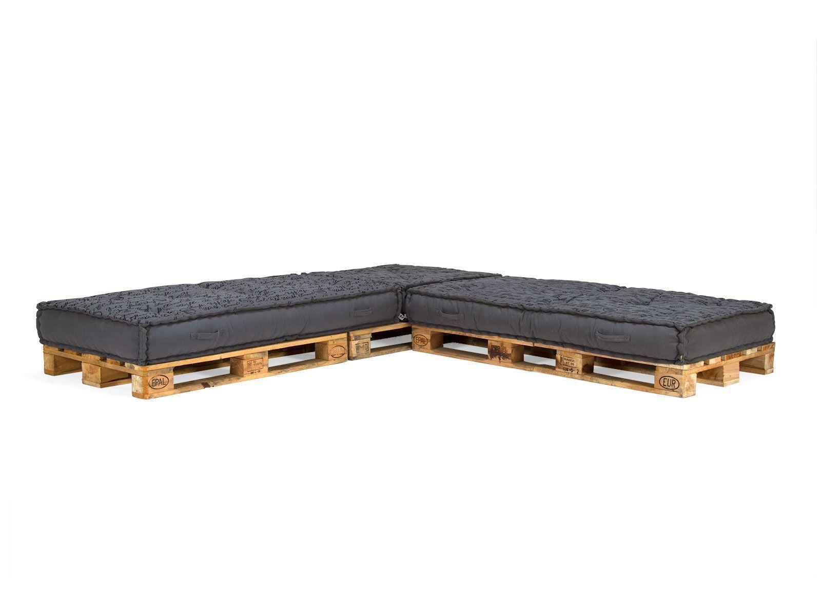 coussin de palette en lin rouge 120 x 40 x 20 10 cm. Black Bedroom Furniture Sets. Home Design Ideas