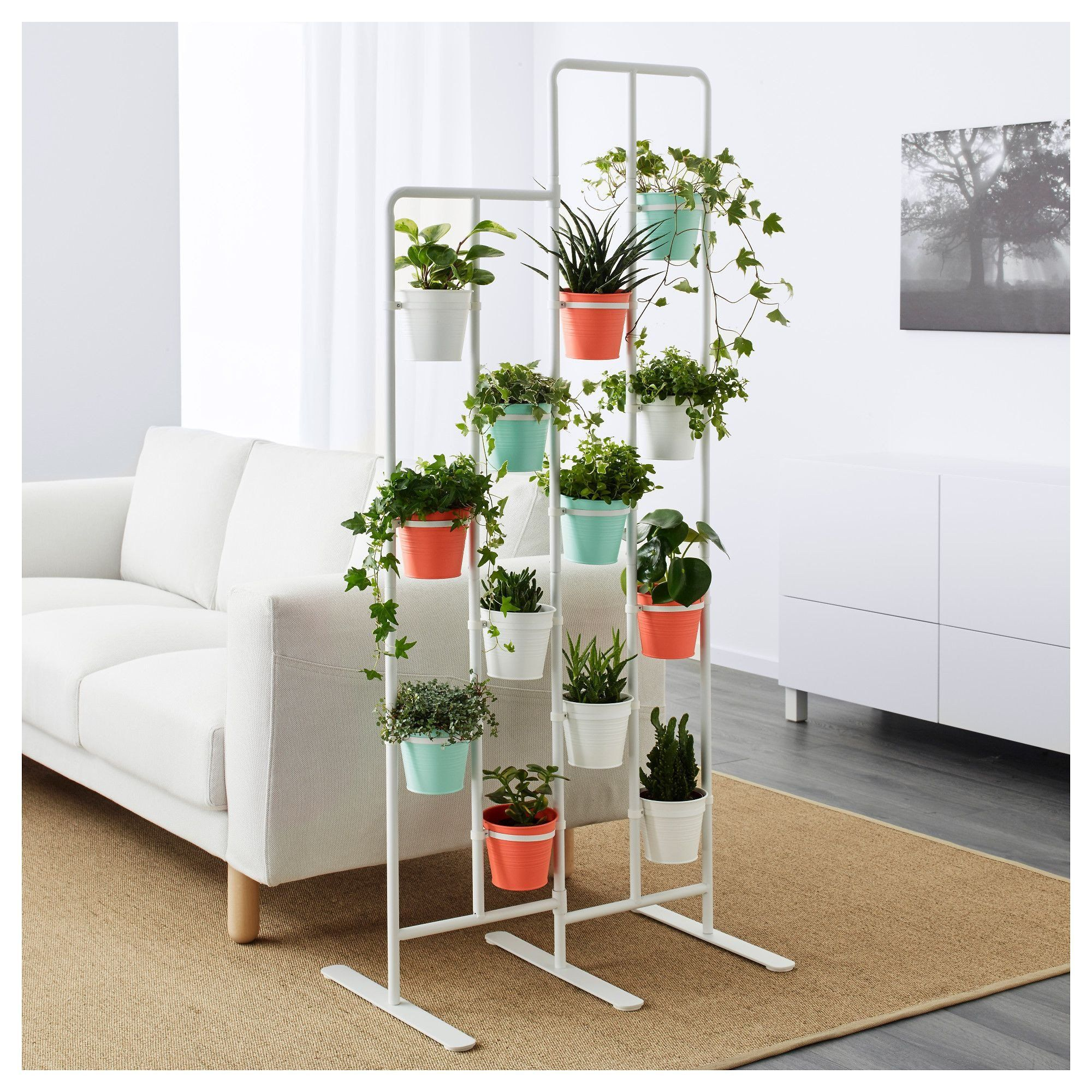 Plant Stand Ideas To Fill Your Living Room Ikea Socker Plant Stand Ciceklik Indoor Plant Shelves House Plants Decor Ikea Plants