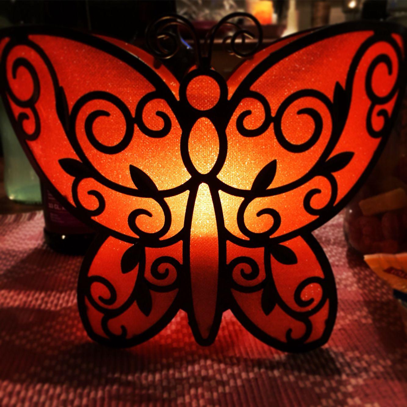 Fjäril, att hänga eller ställa