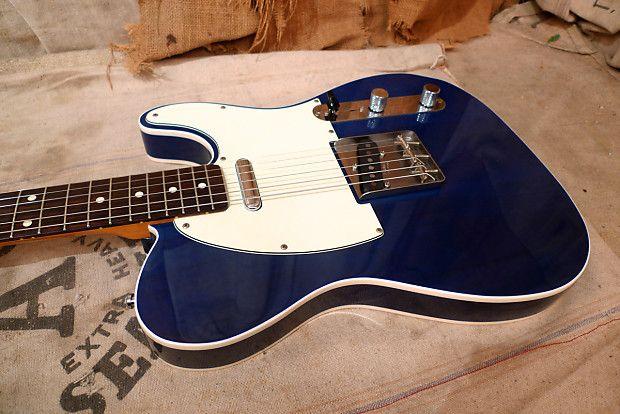 Fender 62 Reissue Telecaster Custom Mij 2010 Trans Blue Reverb Telecaster Custom Telecaster Guitar Gibson Guitars