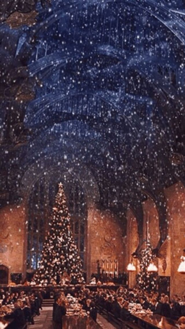 Christmas Harry Potter.Great Hall Wallpaper Lock Screen Harry Potter Wallpaper Harry