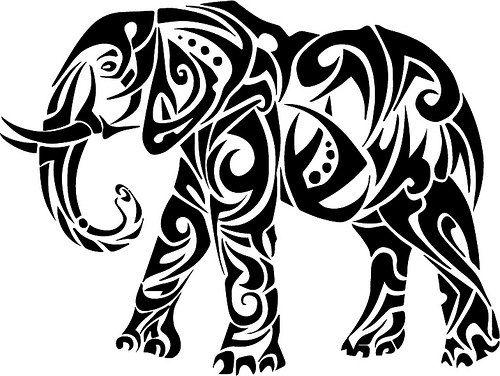Elephant The Craft Chop Svg Files For Cricut