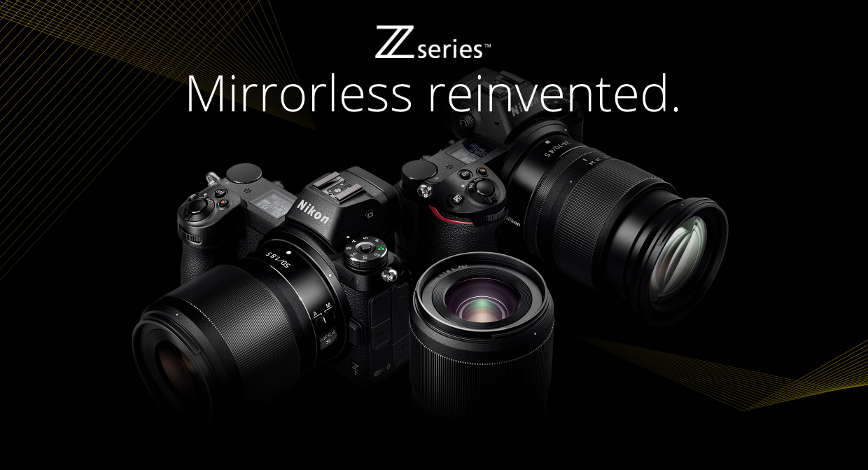 Mirrorless Reinvented The Brand New Nikon Z6 And Z7 Have Been Announced Place Your Pre Order Now Https Loom Ly Mirrorless Camera Camera Nikon Nikon Dslr