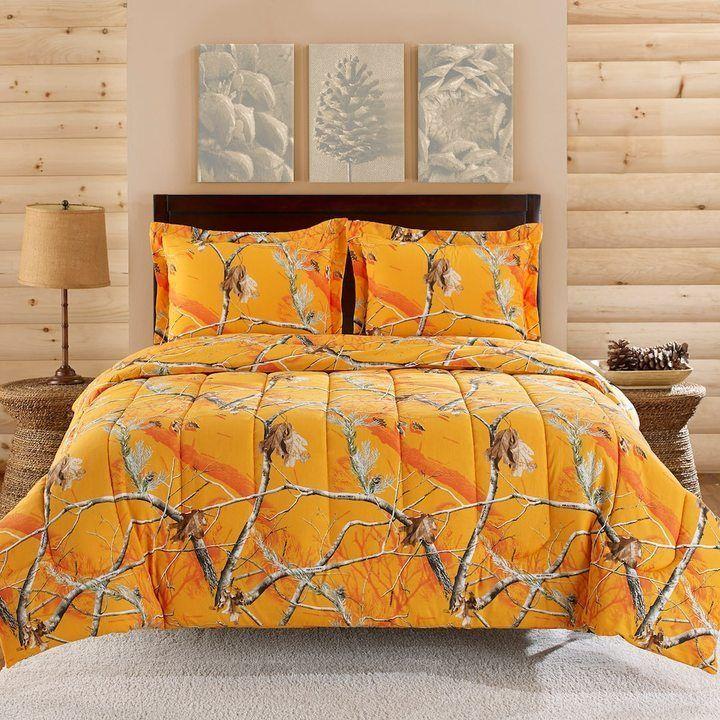 Merveilleux Realtree Camo Comforter Set