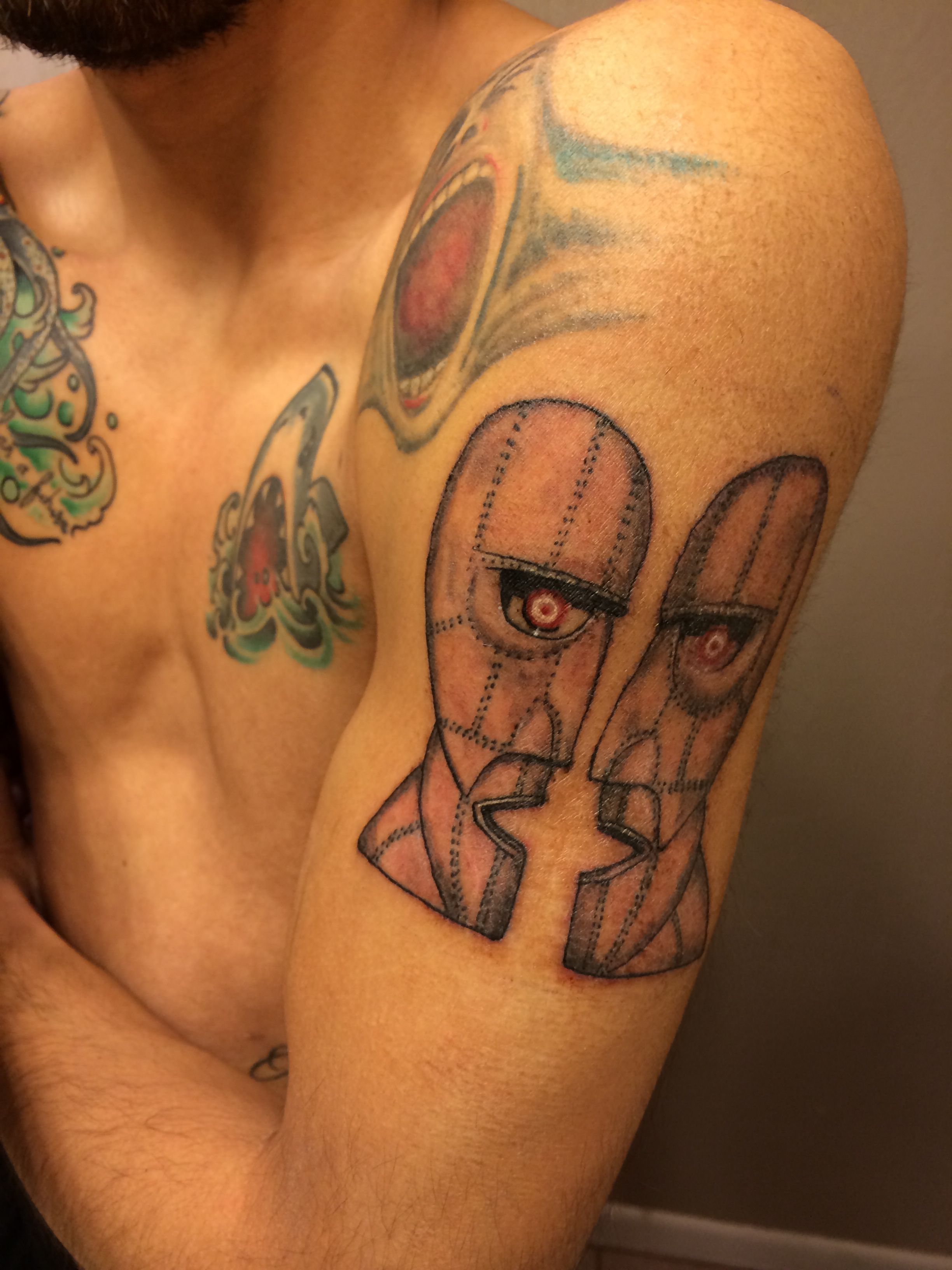 Pink Floyd The Division Bell Tattoo Tattoos Pinterest Bell