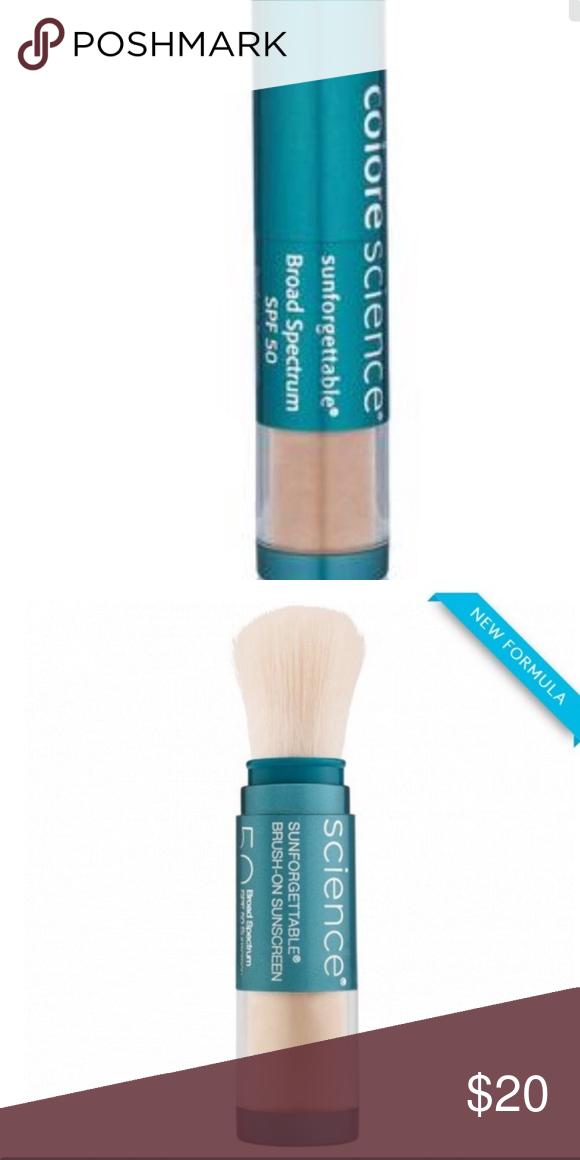 Colorscience brushon sunscreen SPF 50 Spf sunscreen