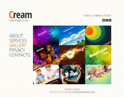 Free Full Website Template - Design Studio #html #javascript http ...