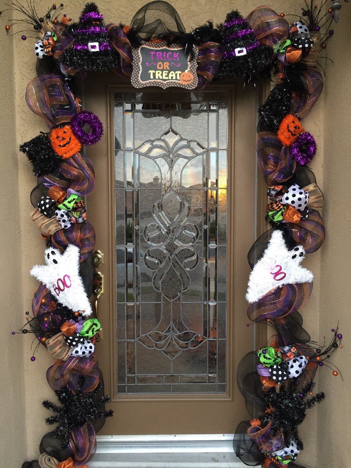 Your place to buy and sell all things handmade #halloweendoordecorations